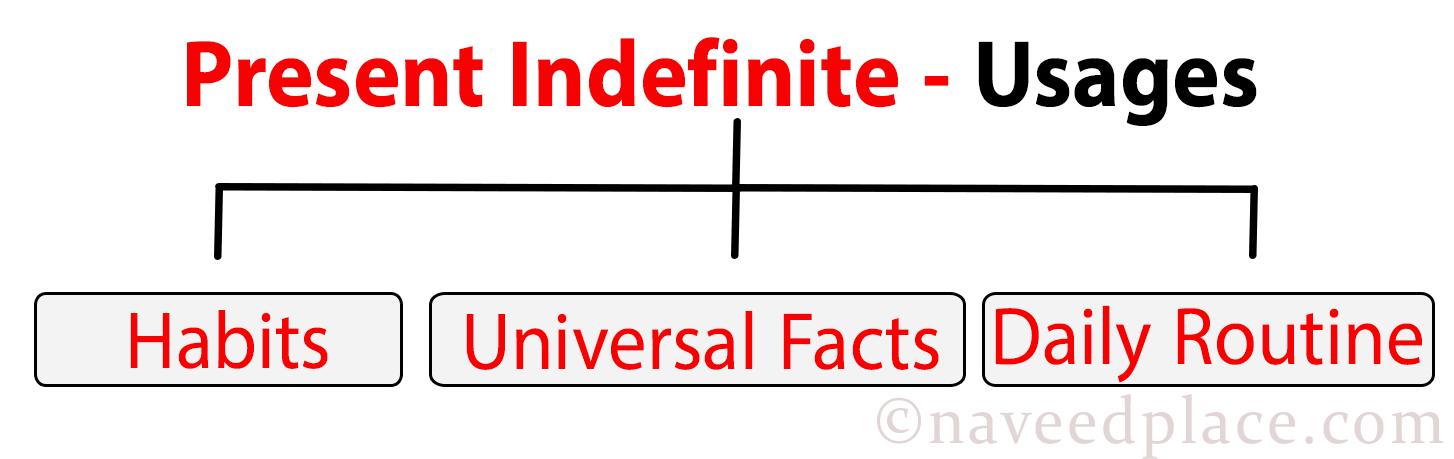 Present indefinite Tense   Definition, Examples Sentences